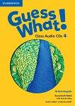 Guess What! - ниво 4: 2 CD с аудиоматериали по английски език -