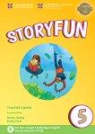 Storyfun - ниво 5: Книга за учителя по английски език Second Edition -