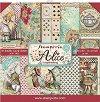 Хартии за скрапбукинг - Алиса - Комплект от 10 броя