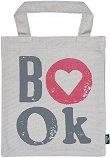 Текстилна чанта за книги - Book -