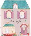 Къща - книжка за оцветяване + стикери -