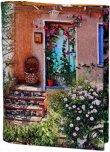 Ръчно изработена текстилна подвързия за книга - Provence -