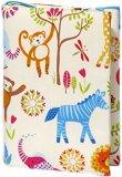 Ръчно изработена текстилна подвързия за книга - Animals -