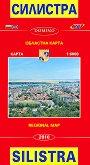 Карта на Силистра: Областна карта : Map of Silistra: Regional Map - М 1:6000 -