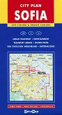 City Plan of Sofia and Area - M 1:20 000 -