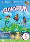 Storyfun - ниво 5: Учебник по английски език Second Edition -