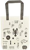 Текстилна чанта за книги - Продукти за готвене -