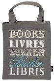 Текстилна чанта за книги - Books Livres - аксесоар