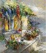 Рисуване по номера - Домът на Хемингуей - Комплект за картина с размери 50 x 40 cm -