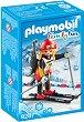 """Състезателка по биатлон - Фигура с аксесоари от серията """"Playmobil: Family Fun"""" -"""