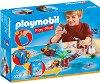"""Пиратско приключение - Детски конструктор от серията """"Playmobil: Play Map"""" -"""