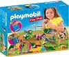 """Преносим комплект - Разходка с понита - Детски конструктор от серията """"Playmobil: Play Map"""" -"""