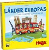 Страните в Европа - Детска състезателна игра - игра