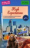 High Expectations - ниво B2 - C1 : Разкази в илюстрации - Доминик Бътлър - книга