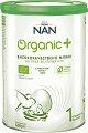 Висококачествено мляко за кърмачета - Nestle NAN Organic 1 - Метална кутия от 400 g за бебета от момента на раждането -