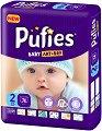 Pufies Baby Art & Dry New 2 - Mini - Пелени за еднократна употреба за бебета с тегло от 3 до 6 kg -