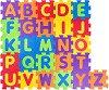 Английска азбука - Детски образователен пъзел-килим с меки елементи -