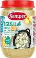 Semper - Пюре от рибни топки с картофи - Бурканче от 190 g за бебета над 8 месеца -