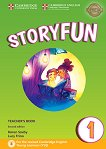 Storyfun - ниво 1: Книга за учителя по английски език : Second Edition - Karen Saxby, Lucy Frino -