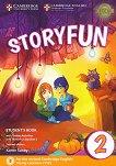 Storyfun - ниво 2: Учебник по английски език : Second Edition - Karen Saxby -