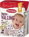 Semper - Течен млечен велинг с овес - Опаковка от 200 ml за бебета над 6 месеца -