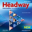 New Headway - Intermediate (B1): 2 CD с аудиоматериали по английски език : Fourth Edition - Liz Soars, John Soars -