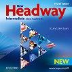 New Headway - Intermediate (B1): 2 CD с аудиоматериали по английски език Fourth Edition -