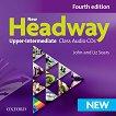 New Headway - Upper-Intermediate (B2): 2 CD с аудиоматериали по английски език Fourth Edition - учебна тетрадка
