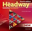 New Headway - Elementary (A1 - A2): 2 CD с аудиоматериали по английски език : Fourth Edition - John Soars, Liz Soars - учебник