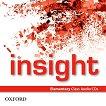 Insight - Elementary: 2 CD с аудиоматериали по английски език -