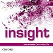Insight - Intermediate: 2 CD с аудиоматериали по английски език -