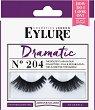 Eylure Dramatic 204 - Мигли от естествен косъм в комплект с лепило -