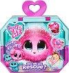 Fur Balls - Спаси животинче в розов цвят - Плюшена играчка изненада и аксесоари -