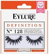 Eylure Definition 128 - Мигли от естествен косъм в комплект с лепило -