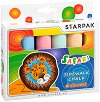 Цветни тебешири - Safari - Комплект от 6 цвята -