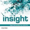 Insight - Upper-Intermediate: 3 CD с аудиоматериали по английски език -