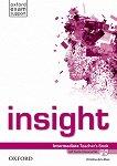 Insight - Intermediate: Книга за учителя по английски език + DVD-ROM - Christina de la Mare -