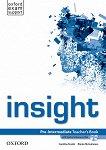 Insight - Pre-Intermediate: Книга за учителя по английски език + DVD-ROM -