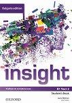 Insight - ниво B1: Учебник по английски език за 9. клас - част 2 Bulgaria Edition - помагало