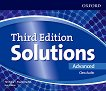 Solutions - Advanced: 4 CD с аудиоматериали по английски език Third Edition - учебна тетрадка