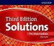 Solutions - Pre-Intermediate: CD с аудиоматериали по английски език Third Edition - учебник