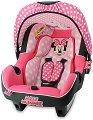 """Бебешко кошче за кола - Beone: Minnie - От серията """"Мики Маус"""" за деца от 0 месеца до 13 kg -"""