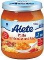 Alete - Пюре от макарони със зеленчуци и говеждо месо - Бурканче от 250 g за бебета над 12 месеца -