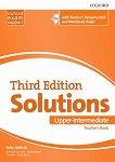 Solutions - Upper-Intermediate: Книга за учителя по английски език + CD Third Edition - учебник