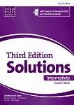 Solutions - Intermediate: Книга за учителя по английски език + CD Third Edition - учебник