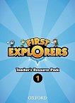 First Explorers - ниво 1: Комплект от материали за учителя по английски език -