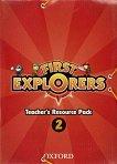 First Explorers - ниво 2: Комплект от материали за учителя по английски език -