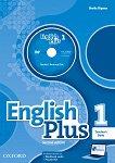 English Plus - ниво 1: Книга за учителя по английски език + DVD Second Edition - помагало