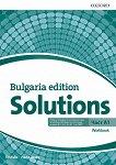 Solutions - част A1: Учебна тетрадка по английски език за 8. клас за неинтензивна форма на обучение : Bulgaria Edition - Tim Falla, Paul A. Davies -