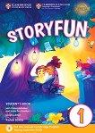 Storyfun - ниво 1: Учебник по английски език : Second Edition - Karen Saxby -